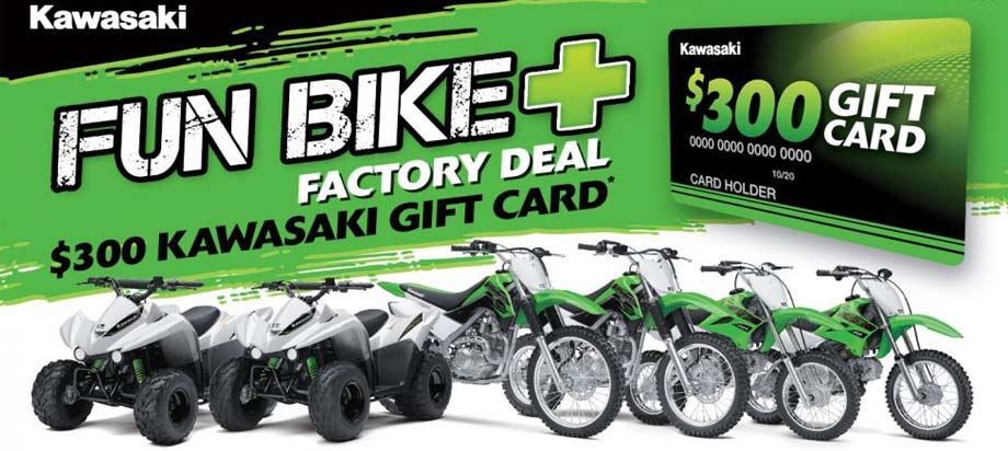 Kawasaki Fun Bike Factory Promo